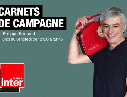 Diffusion sur «Carnets de Campagne» de France Inter